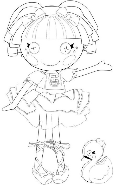 Lalaloopsy coloring page free : Printables for Kids - free ...